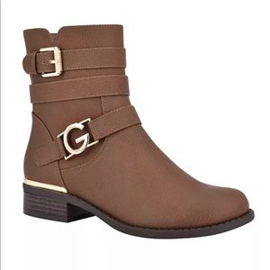 Gbg Los Angeles Harlin Round Toe Stacked Boots